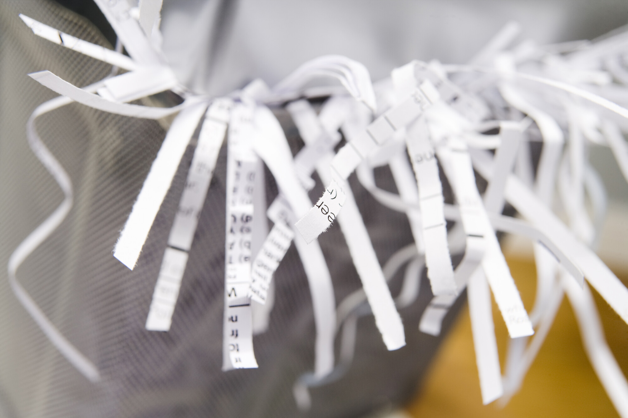 shred residential documents
