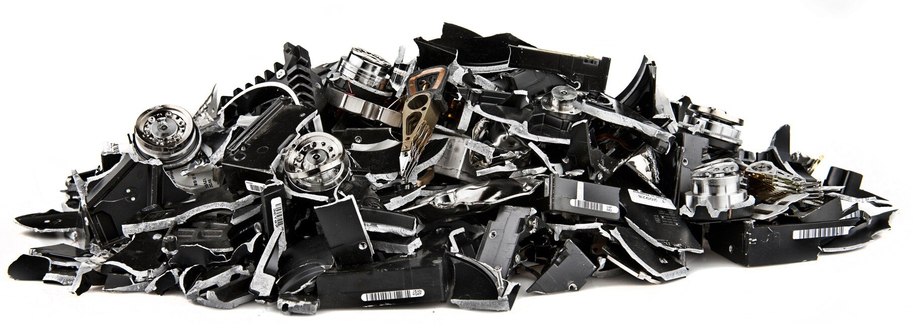 hard drive media destruction